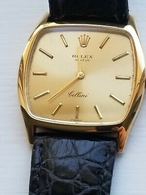 $ CDN728.10 • Buy Rolex Cellini Vintage Solid 18k Yellow Gold -All Original