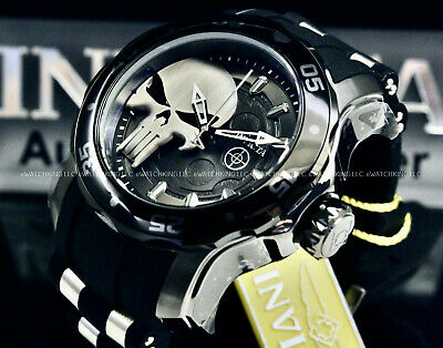 $ CDN102.77 • Buy NEW Invicta Men's MARVEL PUNISHER Pro Diver Scuba LIMITED EDITION SS Strap Watch