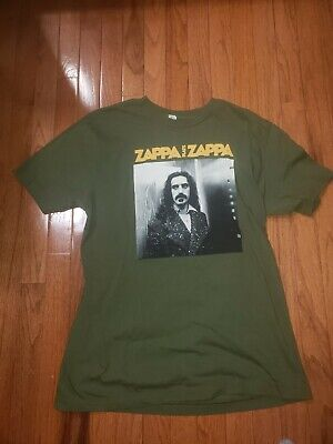 Zappa Plays Zappa  Accepts No Substitute Tour, Sizes Large, Green T Shirt  • 10.87£