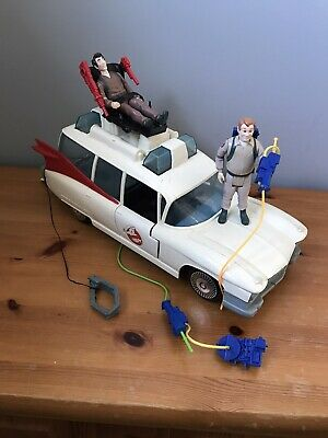 AU104.94 • Buy The Real Ghostbuster Ecto 1 Vehicle Car Ambulance 1980s Toy Kenner Bundle Figure