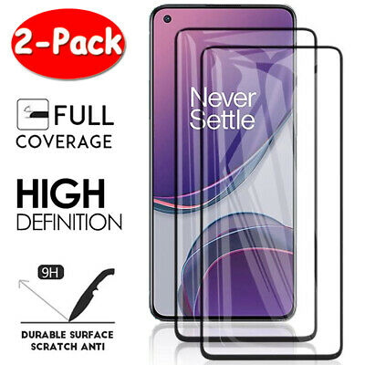 AU5.29 • Buy For OnePlus 9 8 8T 7T 7 Pro Nord N10 FULL COVER Tempered Glass Screen Protector