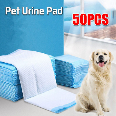 £9.69 • Buy Large Wee Wee Pads Heavy Duty Dog Puppy Training Pad Floor Toilet Mats 60 X 45cm