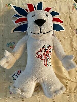 Official Team GB Mascot Lion 2012 Olympics Soft Plush Toy  • 1.50£