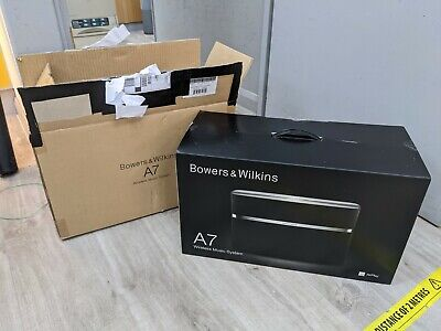 $ CDN552.69 • Buy Bowers And Wilkins B&W A7 Wireless WiFi Apple Airplay Music Speaker System