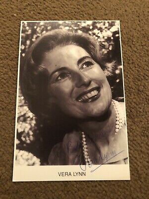 £10.50 • Buy Dame Vera Lynn (forces Sweetheart) Vintage Signed Photo