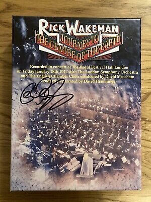 Rick Wakeman Journey To The Centre Of The Earth Super Deluxe CD/DVD • 70£