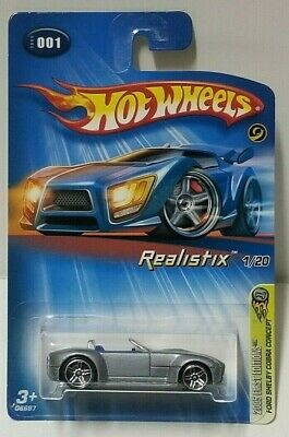 $2 • Buy 2005 Hot Wheels Realistix First Editions Ford Shelby Cobra Concept 1