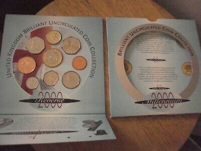 £32.99 • Buy Brilliant Uncirculated Coin Collection Set Millenium Year 2000 United Kingdom