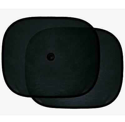 £2.99 • Buy 2 X Baby Car Window Sun Shade UV Shield Rear Side Large Square Windshield Cover