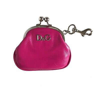 100% Authentic Dolce & Gabbana D&G Leather Coin Purse • 50£