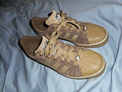 AU64.48 • Buy Adidas Superstar Shoes Size 10  Brown With Brown  Bottoms   Amsterdam