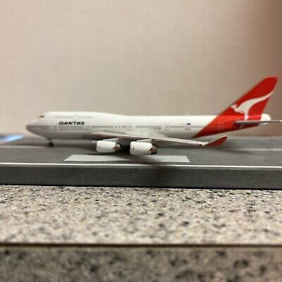 $52.99 • Buy StarJets 500 Scale SAMPLE Diecast Model Qantas B747-4 Commercial Airliner VH-OJA