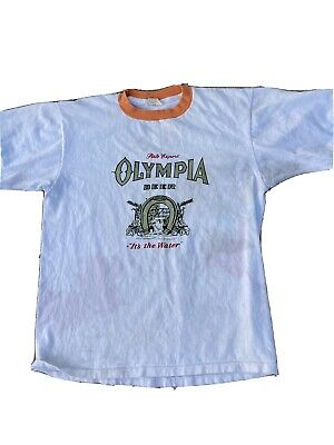 $ CDN121.30 • Buy Vintage 70s T Shirt Olympia Beer Black Hills Rally Races Sturgis Motorcycle XL