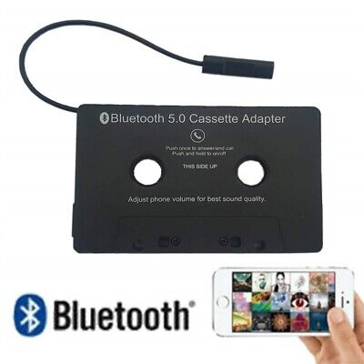 £12.39 • Buy Bluetooth Car Cassette Tape Adapter For Iphone MP3 Android Csaaete Durable Black