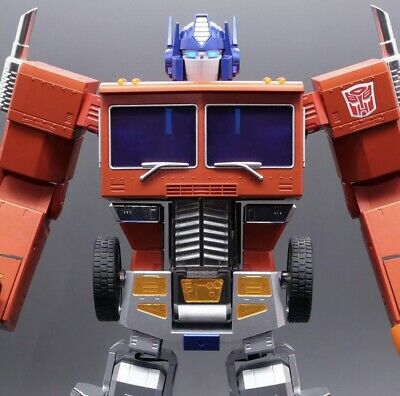 $4000 • Buy TRANSFORMERS Optimus Prime Self-Converting Robot By Robosen. Sold Out Pre Order