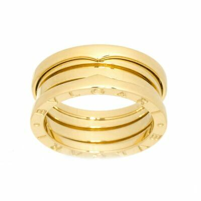 AU1256.25 • Buy BVLGARI B-ZERO 1 3 BAND Ring 18K YG 750 Size53 6(US) 90122984