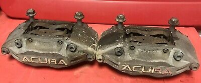 $200 • Buy 05-12 Acura RL Front OEM Advics 4 Pot Calipers Accord Civic TSX RSX TL Upgrade