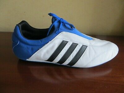 AU8.91 • Buy Adidas White Leather / Blue Delta X Martial Arts Trainers Size 10.5 / 45