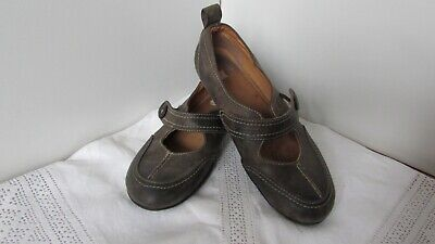 £3 • Buy Riva Brown Leather Mary Jane Shoes Size 3