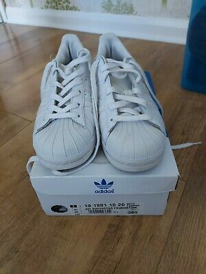 AU17.79 • Buy Ladies Adidas Superstar Trainers Size 5.   Good Cond!!