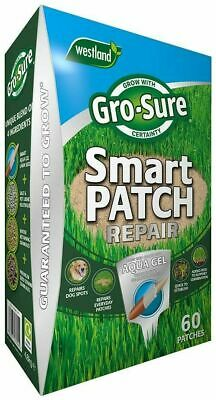 £26.99 • Buy Westland Garden Gro Sure Smart Patch Lawn Grass Seed With Aqua Gel 60 Patches