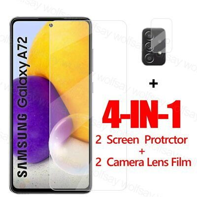 £4.69 • Buy 2.5D Screen Protector For Samsung Galaxy A72 Glass For Samsung Galaxy A72
