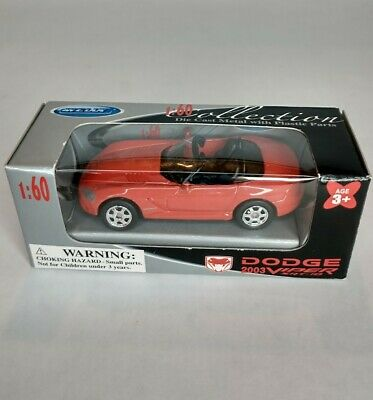 $11.60 • Buy Welly 2003 Dodge Viper SRT-10 Diecast 1:60 Scale GM Official Licenced Product
