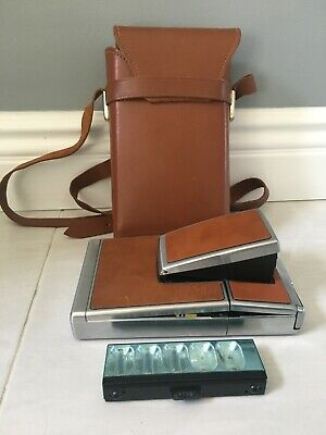 AU119.29 • Buy Vintage SX-70 Polaroid Land Camera With Carrying Case And Partial Flash Bar