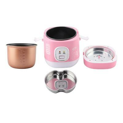 AU45.98 • Buy Rice Cooker Mini Electric Cooker Pink 1.2L 220V AU Plug For Home Dormitory Use