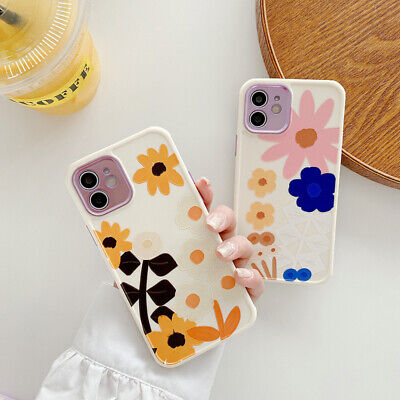 AU11.99 • Buy Luxury Flower Cute Case For IPhone 12 11 Pro Max XS MAX 8 Plus Shockproof Cover