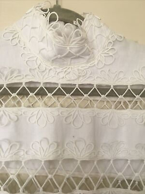 AU25 • Buy Beautiful Zimmerman White Lace Dress, Size O, Excellent Condition