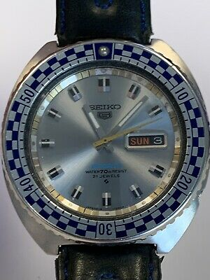 $ CDN306.12 • Buy Seiko Rally Diver 6119-7173 Sport 5 Day Date Automatic Watch Excellent Condition