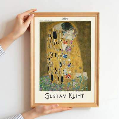 $ CDN21.05 • Buy Gustav Klimt Poster, Gustav Gallery Quality Print - Golconda Wall Art Decor Gift