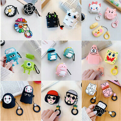 AU5.97 • Buy For AirPod 1 2 Cute 3D Cartoon AirPods Soft Silicone Case Skin Protective Cover