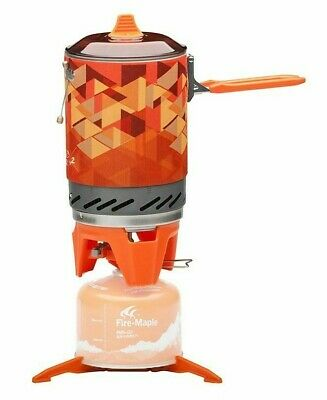 AU183.36 • Buy Fire Maple Outdoor Gas Stove Burner Portable Cooking System With Heat Exchanger