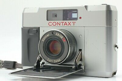 $ CDN624.89 • Buy  Near Mint+++  CONTAX T Silver 35mm Rangeginder Compact Film Camera From JAPAN