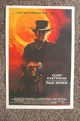 $ CDN5.01 • Buy Pale Rider #2 Lobby Card Movie Poster Clint Eastwood