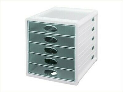 £29.99 • Buy United Office Drawer, Document/ Craft Paper Storage Box, 5 Drawers. Stackable.