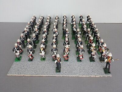 William Britains Toy Soldiers Royal Marines Marching Band • 148£