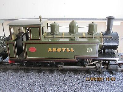 Roundhouse Argyll 16mm Scale SM32 Live Steam Gas Fired Locomotive  • 1,020£