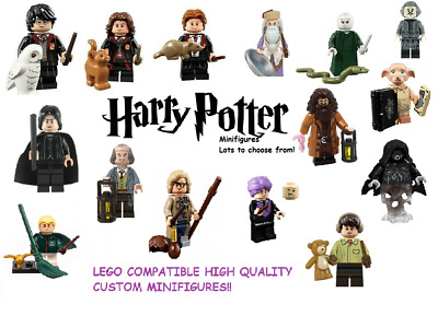 £2.59 • Buy Harry Potter Mini Figures Harry, Hagrid, Dobby - Compatible With Leading Brands