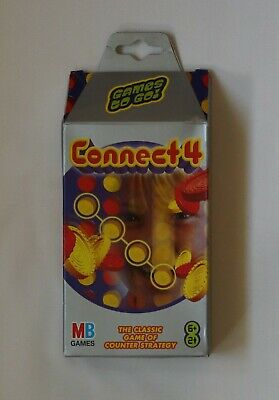 £5.80 • Buy Travel CONNECT 4 - Official MB Games - NEW BOXED