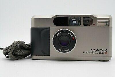 $ CDN1029.50 • Buy [EXC+4] CONTAX T2 35mm Point & Shoot Film Camera W/ Strap From Japan