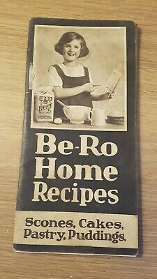 Vintage Be-Ro Home Recipe Book. Pastry Puddings Scones Cakes • 7.99£