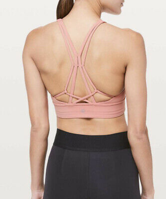 $ CDN29.37 • Buy NWT Lululemon Size 8 Ride And Reflect Bra CAMM Peach