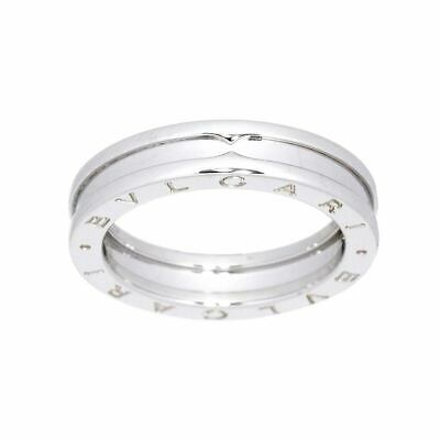 AU856.25 • Buy BVLGARI B-zero1 Ring 18K WG White Gold 750 Size56 7.5(US) 90123776
