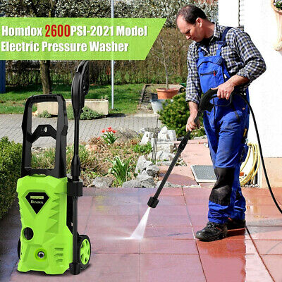 £99.89 • Buy 2600PSI/180Bar Electric Pressure Washer Water High Power Jet Wash Patio Car Home