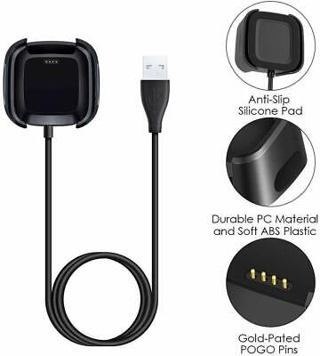 $ CDN6.23 • Buy For Fitbit Versa / Versa Lite USB Charging Cable Power Cradle Dock Case Charger