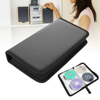 AU9.42 • Buy Portable 80x Disc CD VCD DVD Carry Shell Bag PU Wallet Car Storage Holder Case