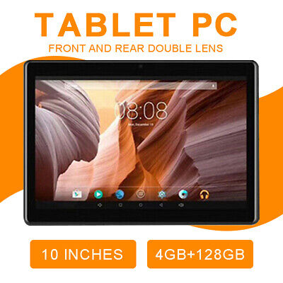 AU93.89 • Buy 10inch 6+128GB Android 9.0 HD Tablet PC Octa-Core Wifi Dual Cameras GPS Phablet